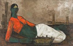 [ Modernist Art from India; The Body Unbound. Interesting entry point into a vastly unappreciated market in the States @ Rubin Museum {nyc} ]