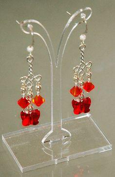 Butterfly Earrings Butterfly Jewelry Swarovski by KwaiJewellery