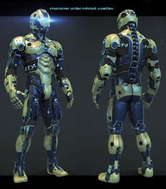 The order for execution robot model Zbrush Character, Alien Character, Robot Concept Art, Armor Concept, Powered Exoskeleton, Futuristic Armour, Sci Fi Armor, Future Soldier, Suit Of Armor
