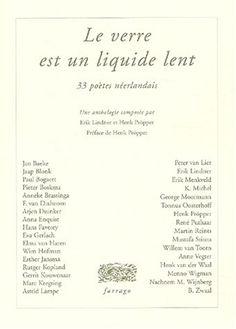#littérature #poésie : 33 poètes neerlandais. La poésie néerlandaise a souvent quelque chose d'optimiste et d'humoristique - non pas l'humour du blagueur ou du comique, mais une espèce de plaisir généreux qu'elle prend à voir l'espièglerie des apparences (le miracle du talent poétique). La multitude de ces apparences et l'impossibilité de les ordonner d'après quelque système que ce soit, font souvent rire le poète aux dépens de ceux qui cherchent néanmoins à trouver un sens ou à mettre en...