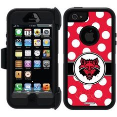 iPhone 5SE/5s OtterBox Defender Series University Case (A-J), Multicolor