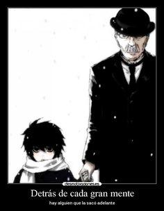 carteles deathnote watari anime mente alguien desmotivaciones