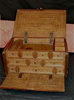 16th c. Chest - OMG, this is beautiful! WANT!