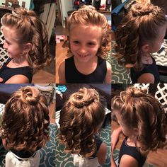 Girl hairstyle for ball/dance/special occasion