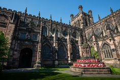 Chester: A Time-Travelling City - Ancient History Encyclopedia Beautiful Architecture, Art And Architecture, Chester Cheshire, Chester Zoo, Chester Cathedral, Cheshire England, Barcelona Architecture, History Encyclopedia, Old English