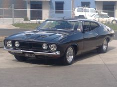 1974 Ford Falcon XB Coupe Muscle Car....eric banners favourite and the car from Mad Max...