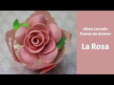 Pasta para hacer flores en azúcar - YouTube