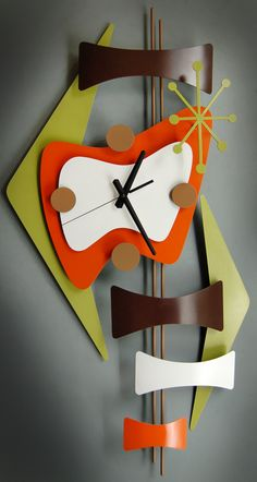 Atomic wall clock