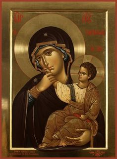 Most Holy Theotokos Pray for us!