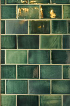 We absolutely love the deVOL Emerald Green London Tiles, on show at our St. John's Square Showroom in Clerkenwell, London.