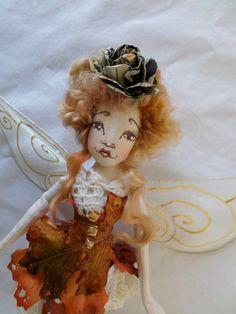 OOAK Fairy Art Doll  Evangeline Grace Lovelace  by paulasdollhouse