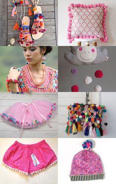 POMPOM! by Katarzyna Bialik on Etsy--Pinned with TreasuryPin.com
