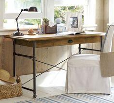 perfect size for art room...Warren Desk | Pottery Barn