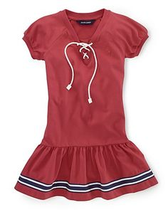 Ralph Lauren Childrenswear Toddler Girls' Nautical Dress - Sizes 2T-4T | Bloomingdale's