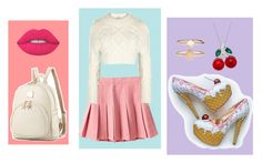 """""""So Sweet!"""" by cjmax on Polyvore featuring DKNY, Accessorize and Lime Crime"""