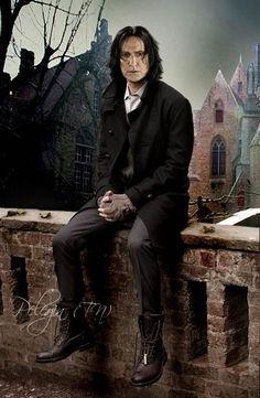 I am loving this manip of Snape!