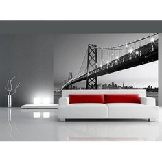 Bay Bridge San Francisco. Bildtapete.