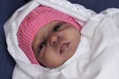 AA Ethnic Biracial Reborn Baby Girl Jamie by Olga Auer