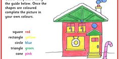 Six differentiated Christmas Maths activities identifying shapes.