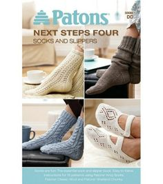 Patons-Next Steps Four: Socks And Slippers, , hi-res