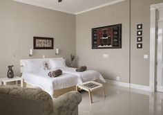 Each bedroom at Buffelsdam Country House is a thing of beauty.