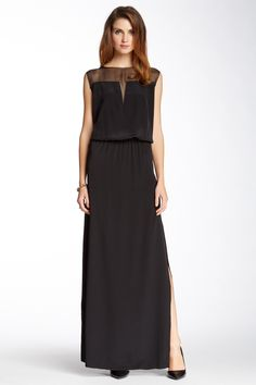 Jaden Pico Edge Maxi Dress by Nicole Miller on @nordstrom_rack