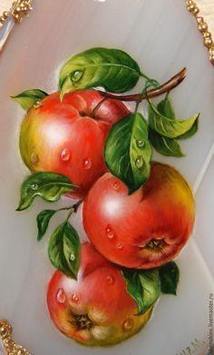 """Купить кулон """" Яблочки"""" - комбинированный, яблоки, яблочки, Молодильные яблоки, райские яблоки"""