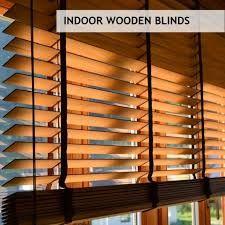 Image result for wood blinds for windows