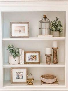 Home Design, Design Ideas, Interior Design, Living Room Decor, Bedroom Decor, Decor Room, Shelf Ideas For Living Room, Living Room Shelves, Wall Decor