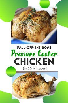 Pressure Cooker Chicken: Fork-Tender Chicken in Just 30 Minutes!