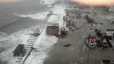 This photo provided by 6abc Action News shows the Inlet section of Atlantic City, N.J., as Hurricane Sandy makes it approach, Monday Oct. 29, 2012.