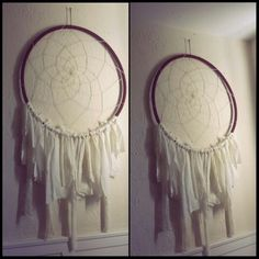 Walmart Dream Catcher Impressive Diy Dream Catcher Hula Hoop Dream Catcher Wrap With Yarn Beads 2018