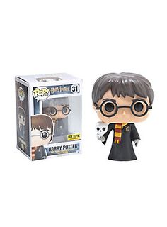 Funko Harry Potter Pop! Harry Potter With Hedwig Vinyl Figure Hot Topic  Exclusive 2eaf7fb931