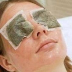 Tea bags - The antioxidants found in tea can be highly beneficial to the delicate skin around the eyes, helping to tighten the skin while the caffeine is highly effective in reducing the puffiness and dark circles that can leave the eyes looking tired.