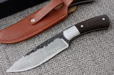 Free delivery - High quality, New High-carbon Steel Handmade Forged Damascus Hunting Knife Camping knife HandMade--01 Free shipping