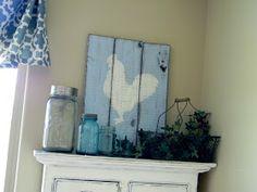 Little Bit of Paint: Kitchen Pallet Signs