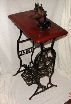 Child's treadle sewing machine