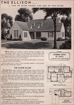 """I believe that this is the original plans for our house,  but slightly modified.  Our house is flip flopped.  Our """"porch"""" is a room and the house is more squared off."""