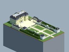 Château de Champs-sur-Marne Minecraft Project
