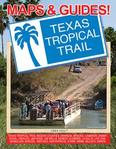Add to your road trip adventure, learn all about our heritage and culture, follow the trail to new memories with this companion volume! Over 175 pages, 8 1/2 x 11″, spiral-bound, full color maps, photos, history & information! Just… $19.95 ea.! Call for resale info, Phone: 361-592-4603, or Email: info@texastropicaltrail.com. Road Trip Adventure, Central Texas, Trail Maps, Ea, Spiral, Tropical, Culture, Memories, History