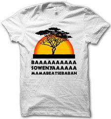 Ba Sowenya...My shirt for Disney's Animal Kingdom!! Lmao