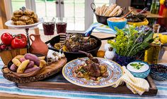 Home & Family - Recipes - Debbie Matenopoulos' Lamb Chops & Fingerling Potatoes   Home & Family