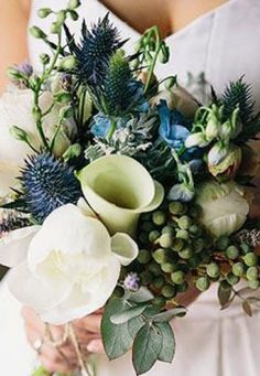 Australian Native Wedding Flowers - Cakes & Flowers | The Knot.  A Different look that I like !