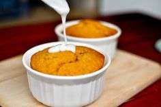 Pumpkin Spice Breakfast Cakes.