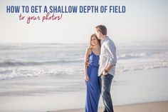 How to Get a Shallow Depth of Field to Your Photos! In other posts, you've read about aperture (opening in the lens that lets light pass into the camera body) and how that affects exposure. Hopefully, after several experiments, you now have a feel of how apertureworks. While fidgeting with your camera's …