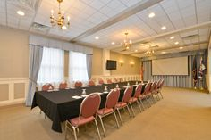 One of the Genetti Hotel's conference rooms.