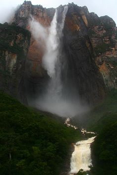 Angel Falls, the classic view, via Flickr.