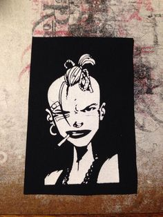 Tank Girl Patch by PatchTrash on Etsy https://www.etsy.com/listing/235625177/tank-girl-patch