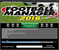 Football Manager 2016 Key Generator