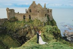 Happy St. Patrick's Day, ladies + gents! We felt it only fitting to celebrate this Irish holiday today with a gorgeous elopement editorial, captured by the wildly talentedPriscila Valentina Photography.Priscila wanted to recreate apiece of history that happened years + years ago atDunluce Castle in Ireland. She shares, Lord McQuillan of Dunluce had imprisoned his...